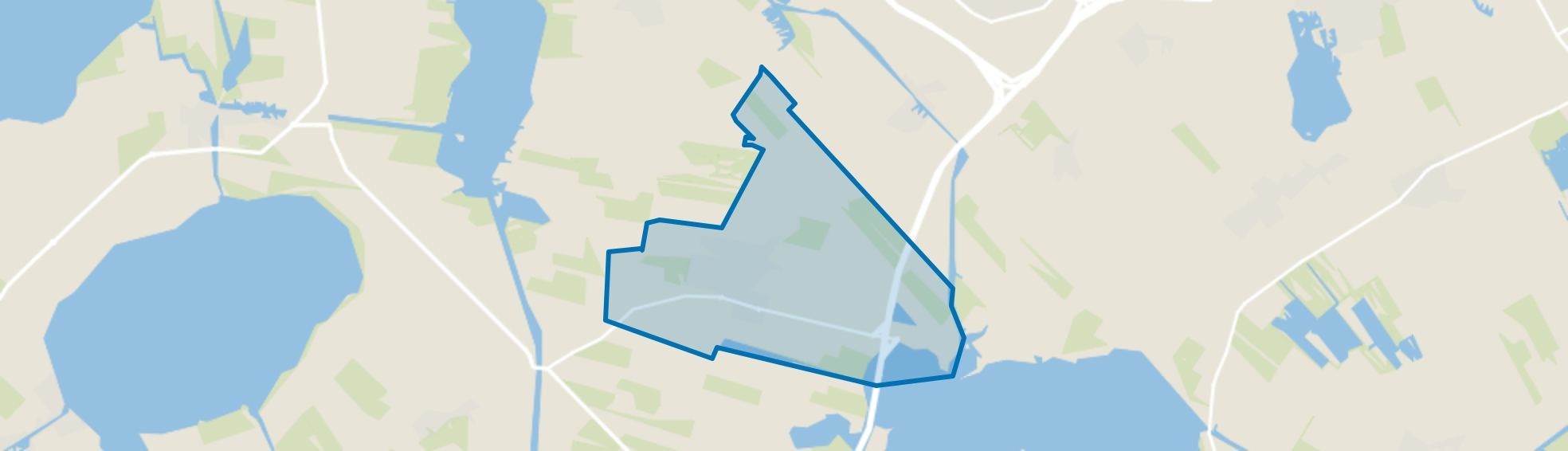 Sint Nicolaasga, Sint Nicolaasga map