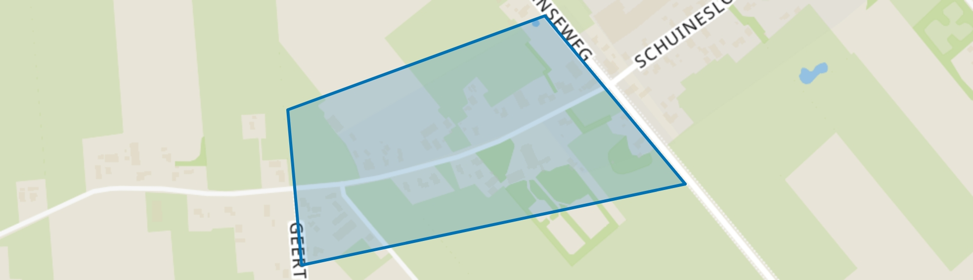 De Belt, Slagharen map