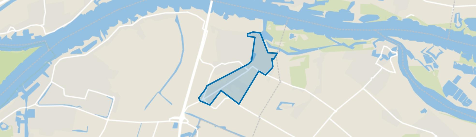 Sleeuwijk oost, Sleeuwijk map