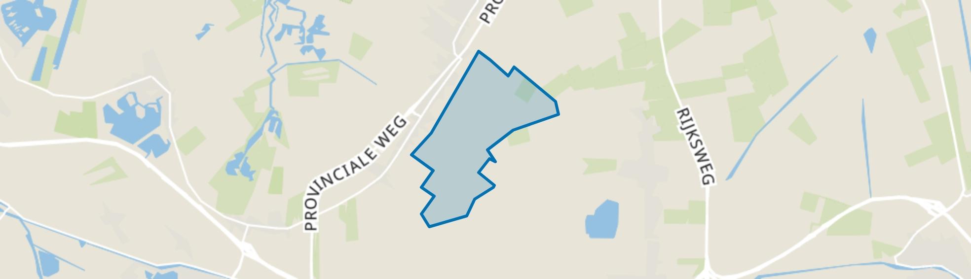 Slochteren Buitengebied, Slochteren map