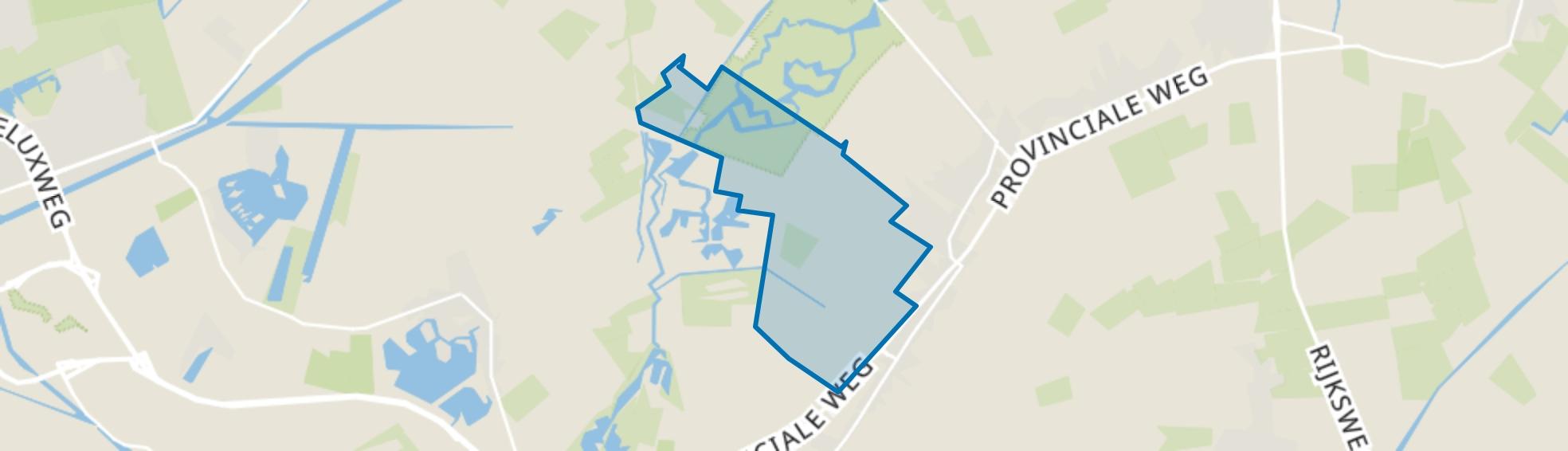 Slochteren Natuurgebied, Slochteren map