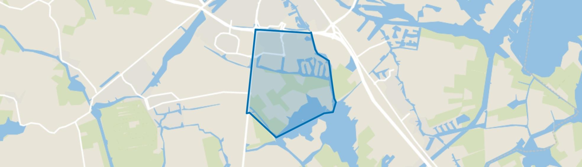 Duinterpen, Sneek map