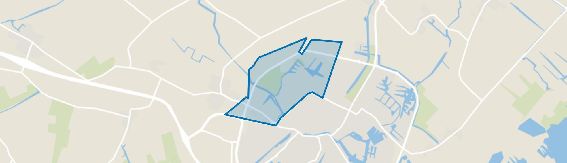 Noorderhoek II, Sneek map