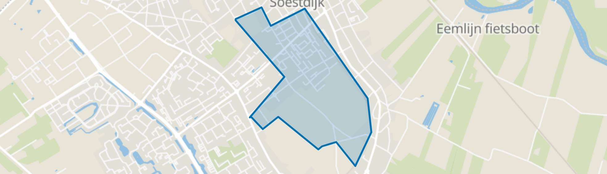 De Eng, Soest map