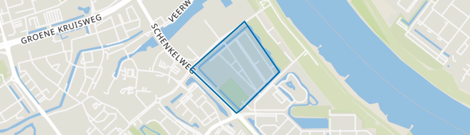 Het Land, Spijkenisse map