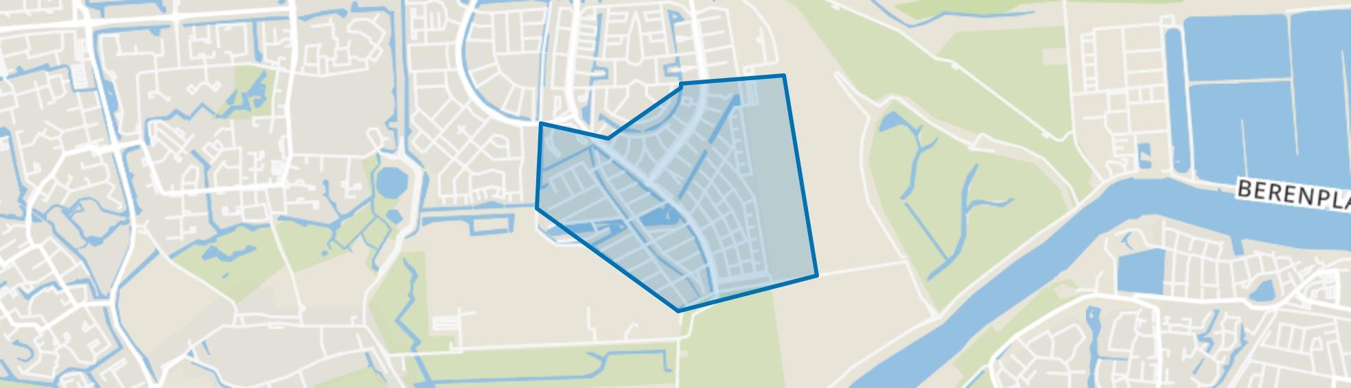 Maaswijk-Zuidoost, Spijkenisse map