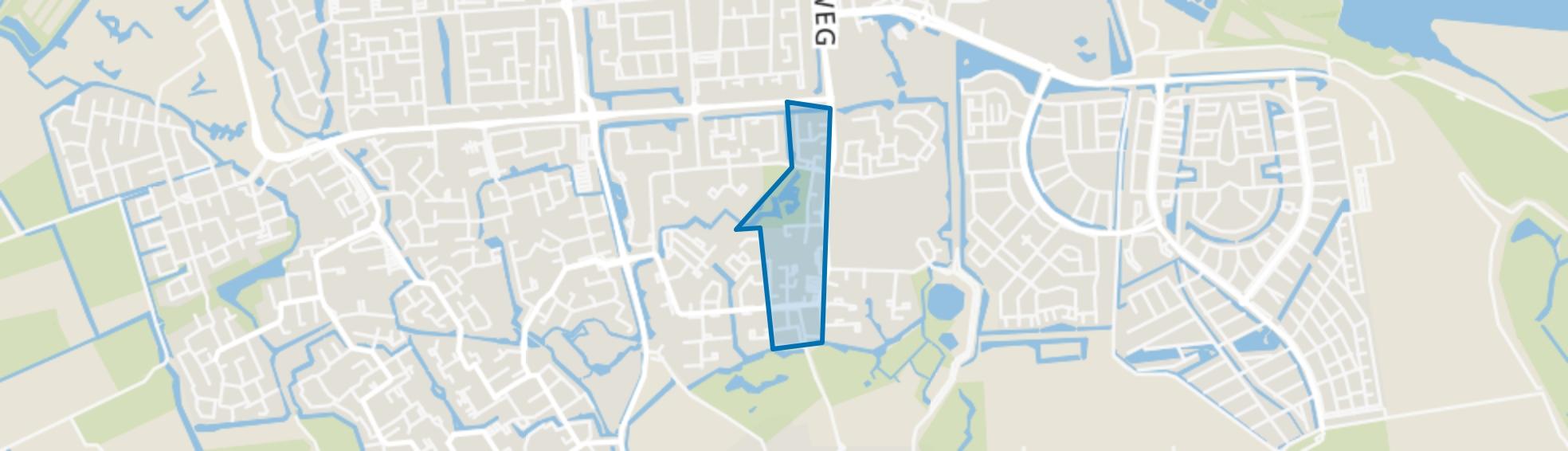 Middengebied, Spijkenisse map