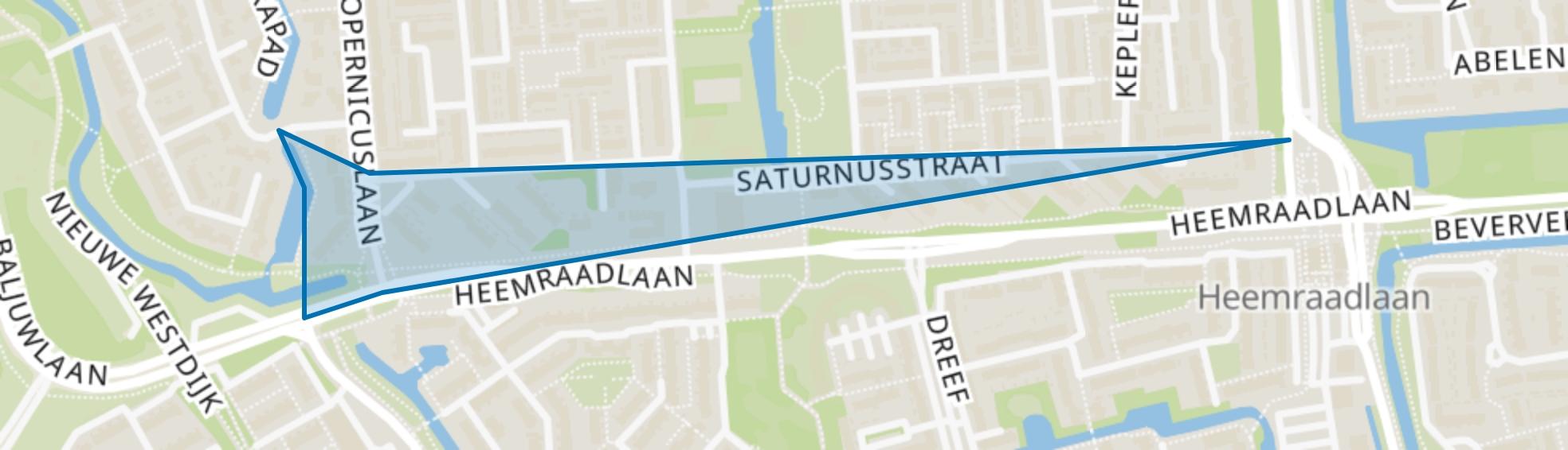 Sterrenkwartier-Zuid, Spijkenisse map