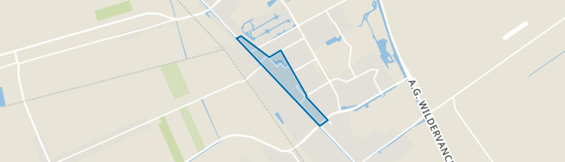 Stadskanaal Centrum, Stadskanaal map