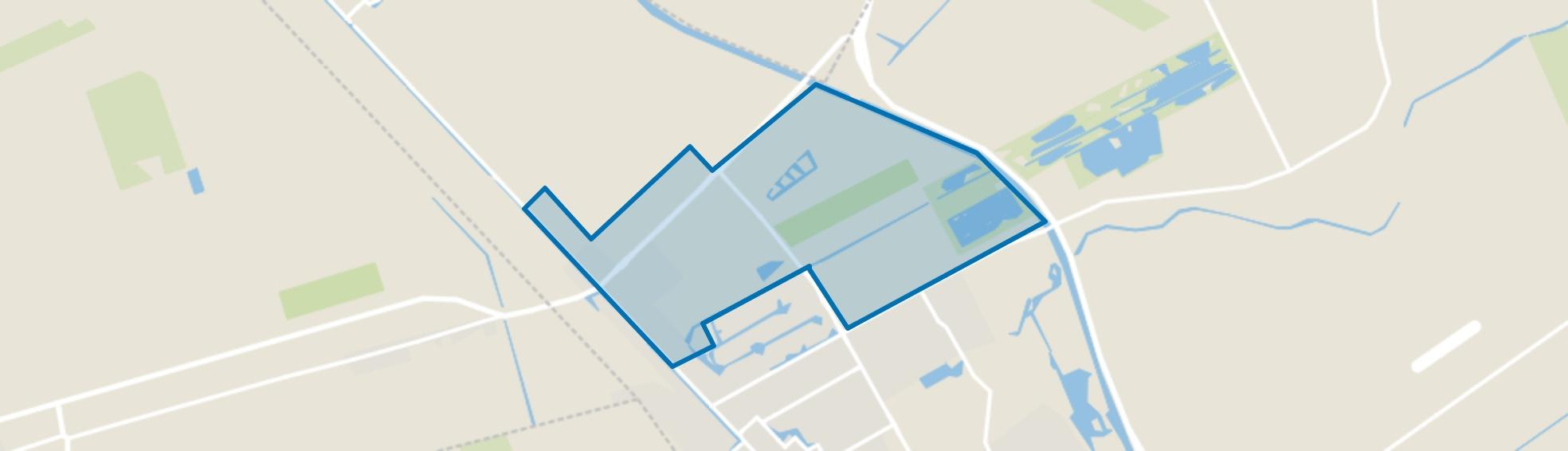 Stadskanaal Noord Centrum, Stadskanaal map