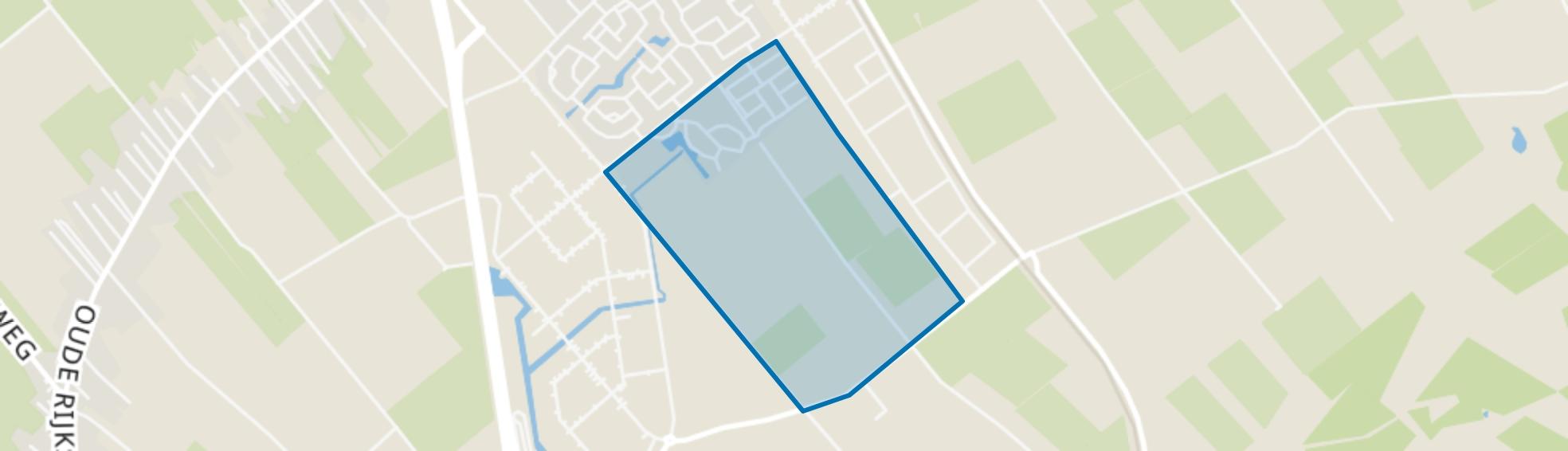 De Slagen, Staphorst map