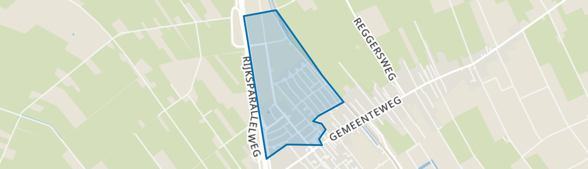 Staphorst-Noord, Staphorst map