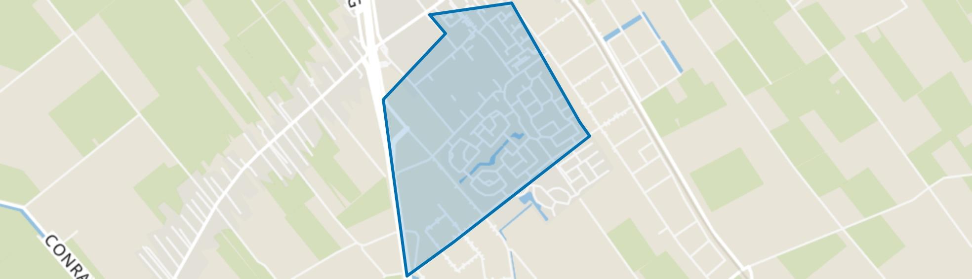Staphorst-Zuid, Staphorst map