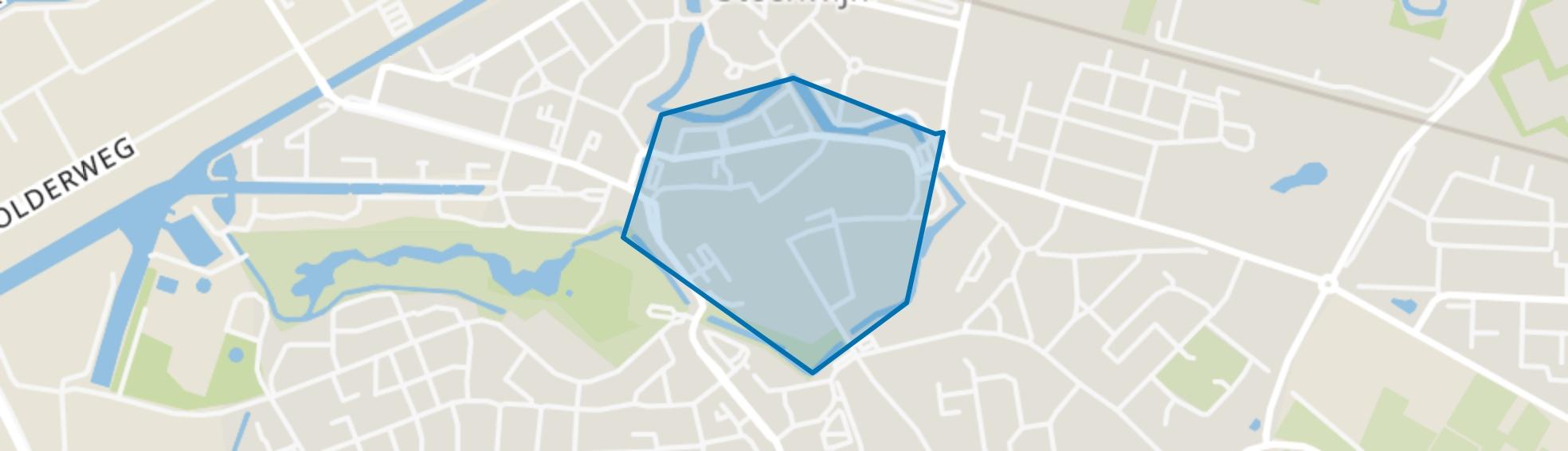 Centrum Steenwijk, Steenwijk map
