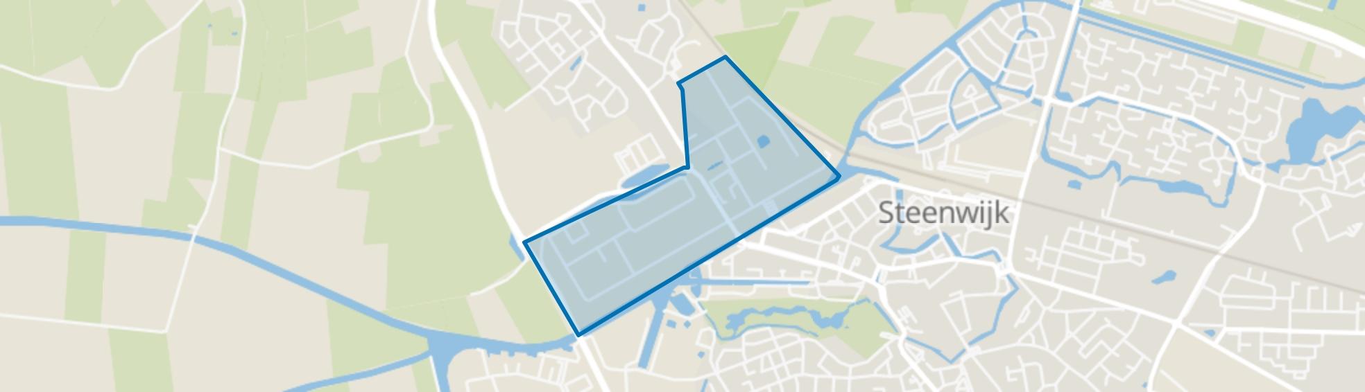 Dolderkanaal, Steenwijk map