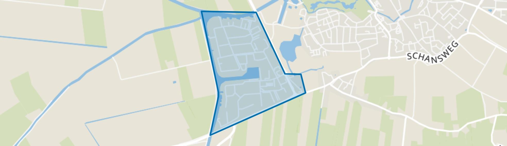 Groot Verlaat, Steenwijk map