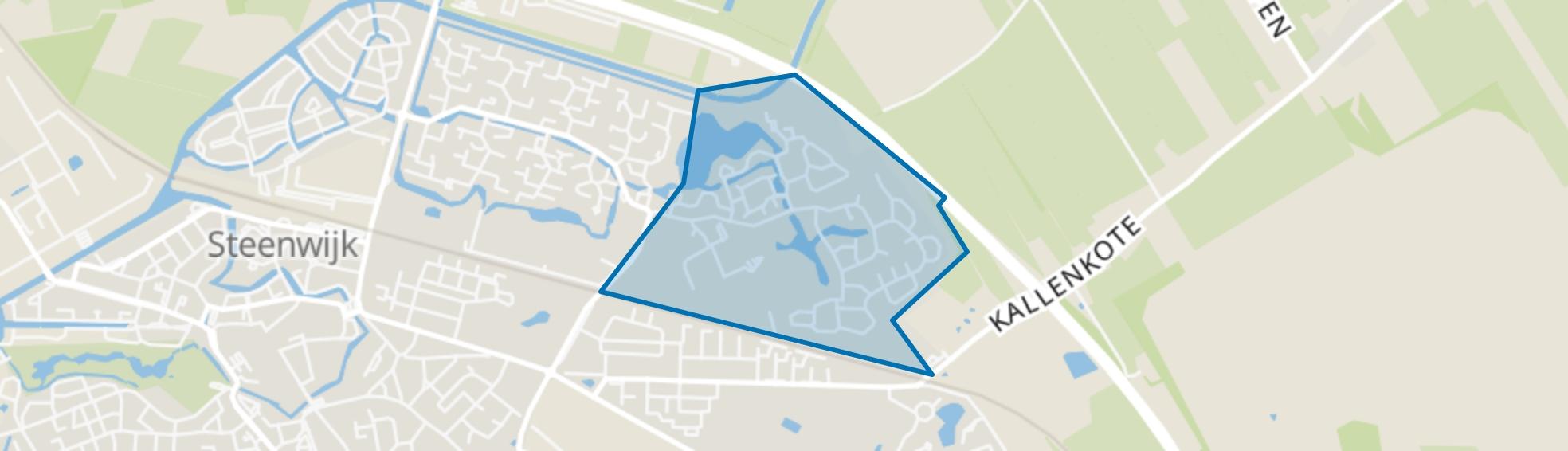 Nieuwe gagels, Steenwijk map