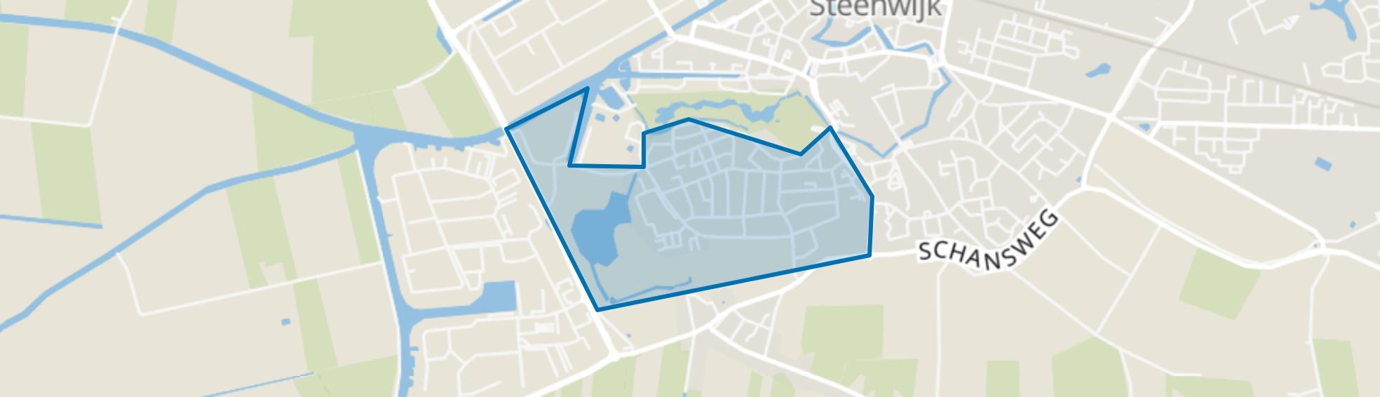 Steenwijk West, Steenwijk map