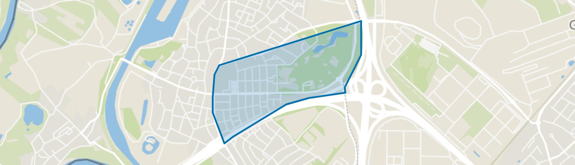 Centrum, Stein map