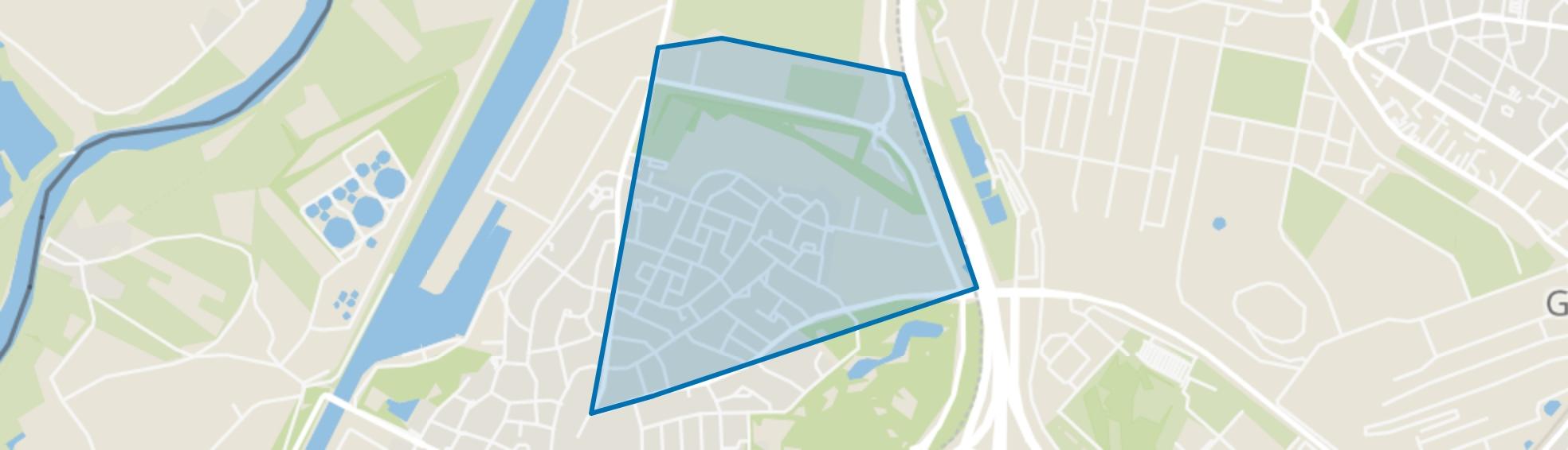 Kerensheide, Stein map