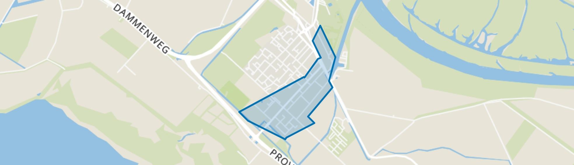 Stellendam centrum, Stellendam map