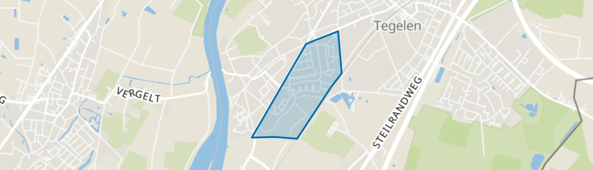 Nieuw-Steyl, Steyl map