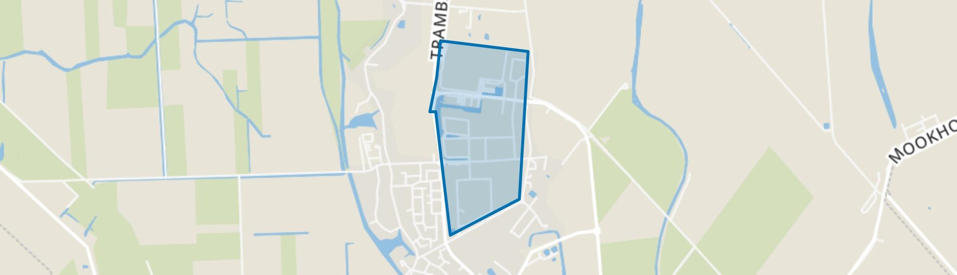 Strijen Bedrijventerrein Bonaventura, Strijen map