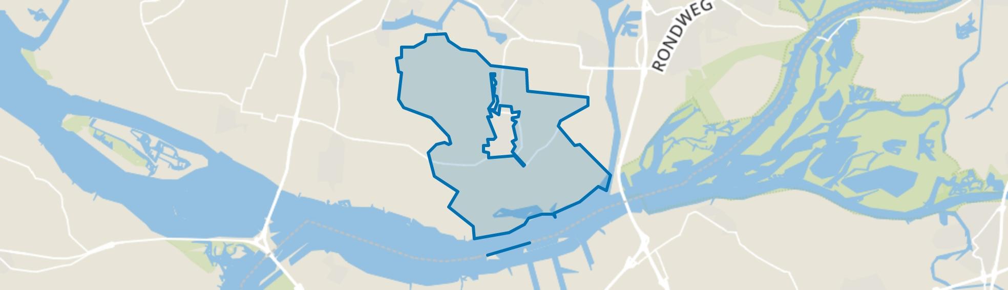 Strijen Buitengebied, Strijen map