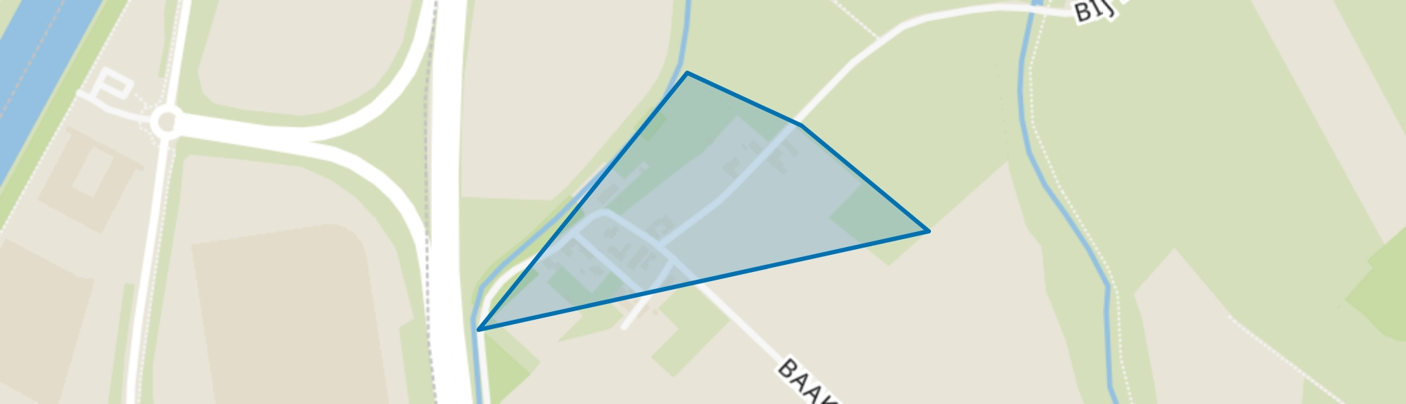 Baakhoven, Susteren map