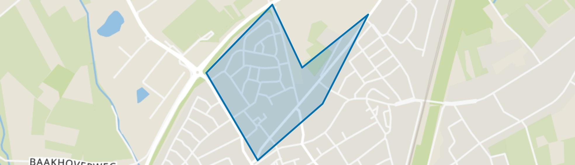 Middelveld, Susteren map
