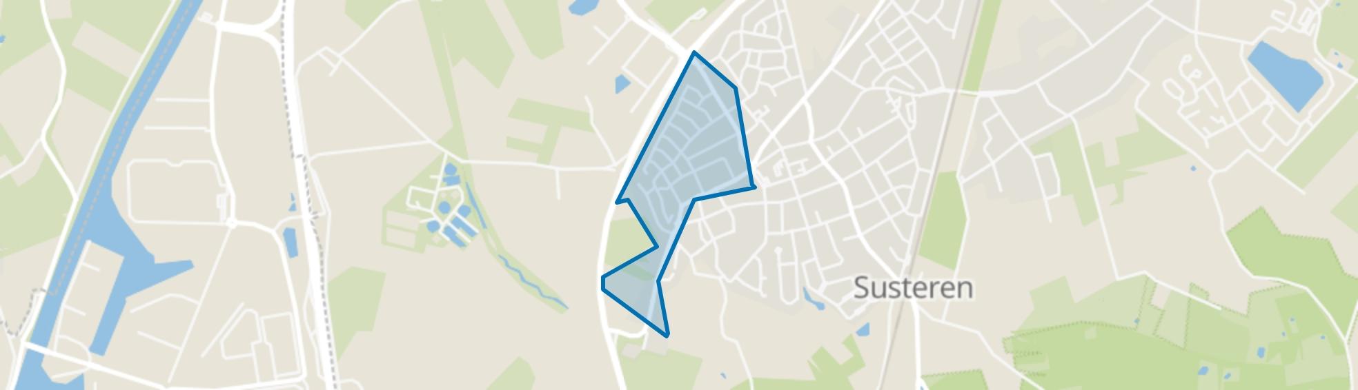 Munsterveld, Susteren map