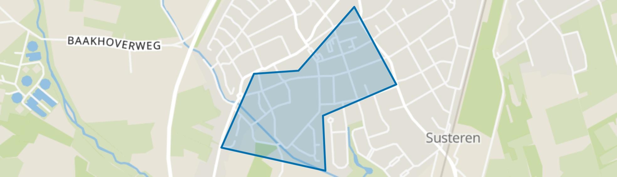 Susteren Centrum, Susteren map