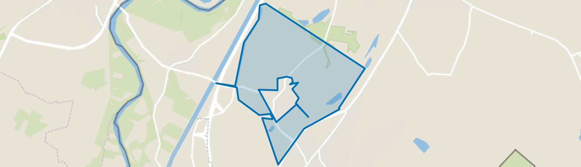 Verspreide huizen Dieteren, Susteren map