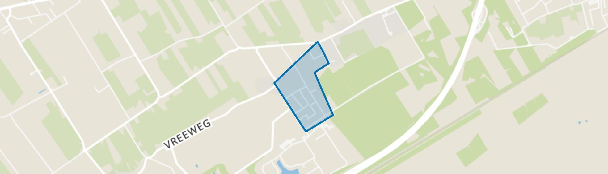 't Loo, 't Loo Oldebroek map