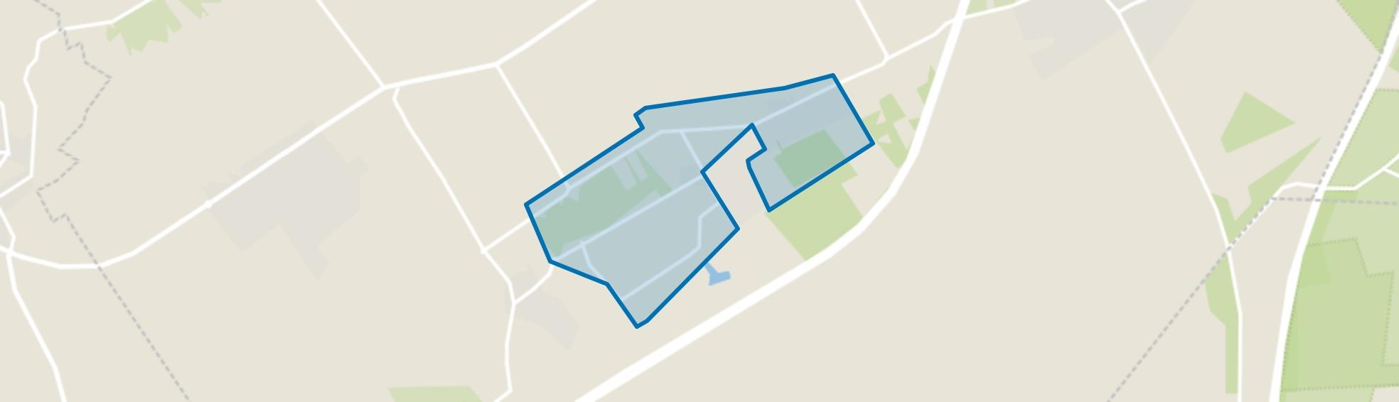 Verspreide huizen 't Loo, 't Loo Oldebroek map