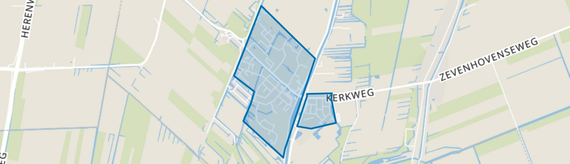 Ter Aar-Centrum (voorheen Aardam), Ter Aar map