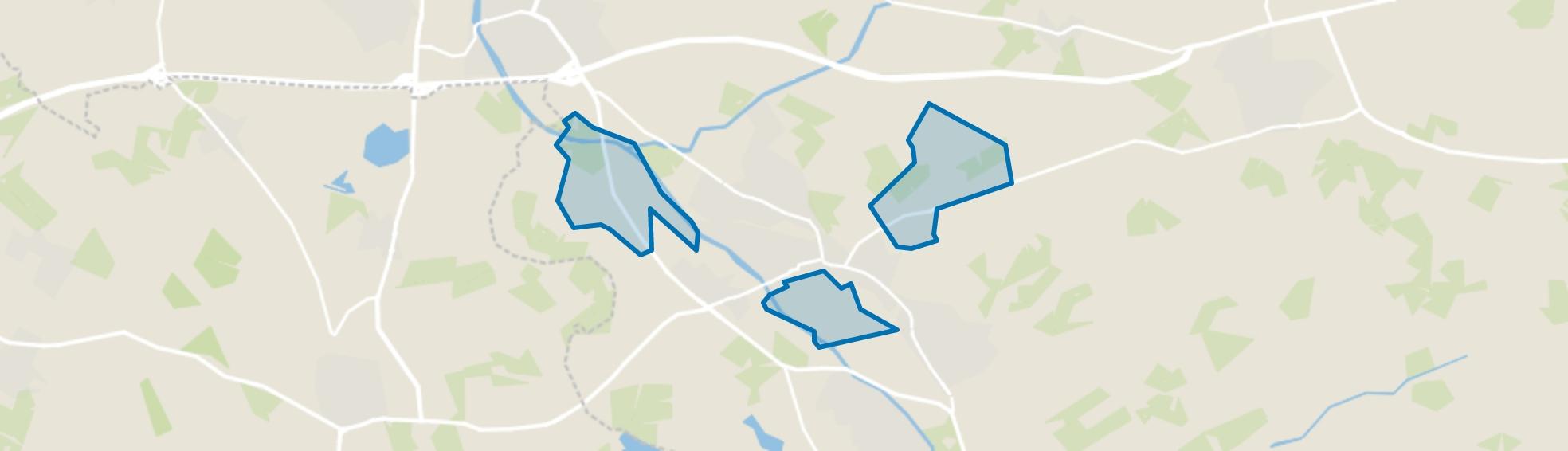 Verspreide huizen Terborg en Heuven, Terborg map