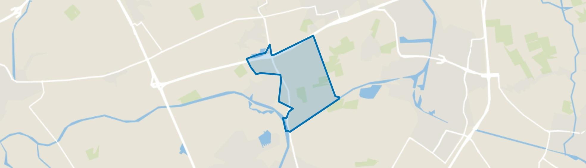 Verspreide huizen Binnenpolder, Terheijden map