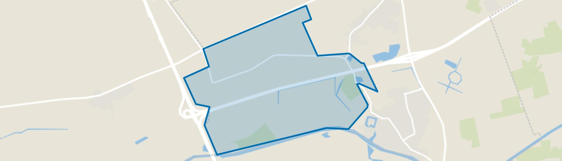 Verspreide huizen Zonzeelsepolder, Terheijden map
