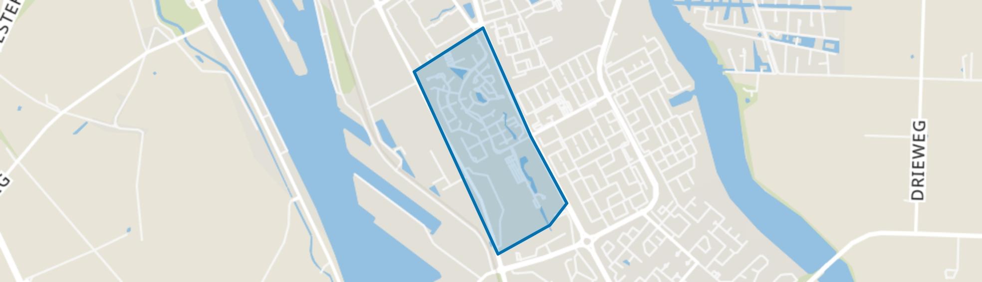 Oude Vaart, Terneuzen map