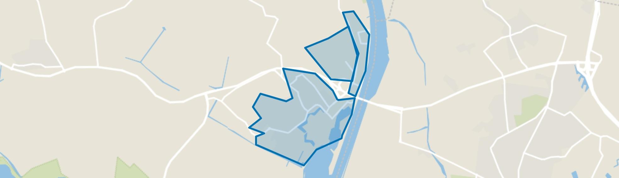 Tholen, Tholen map