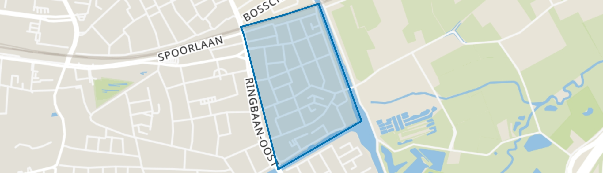 Armhoef, Tilburg map