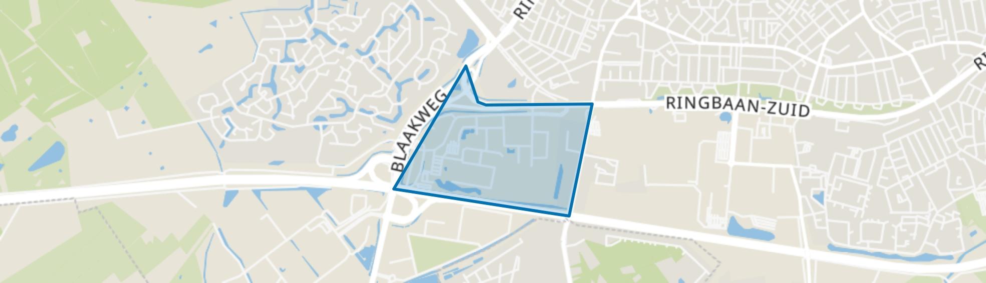 Bedrijventerrein Het Laar, Tilburg map