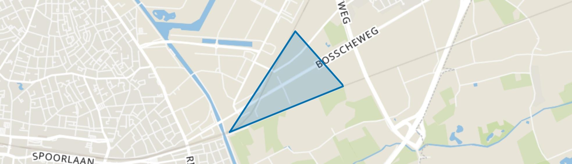 Bosscheweg, Tilburg map
