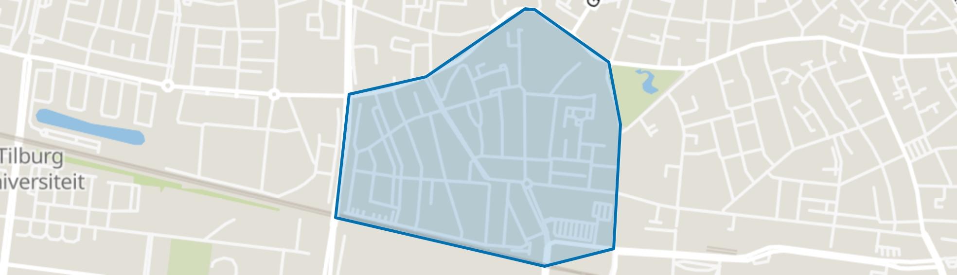 Bouwmeester, Tilburg map