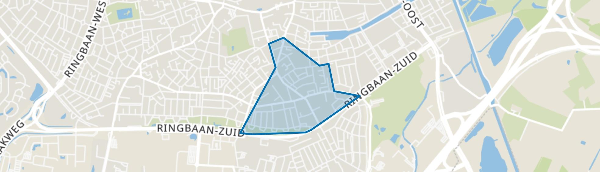 Broekhoven, Tilburg map