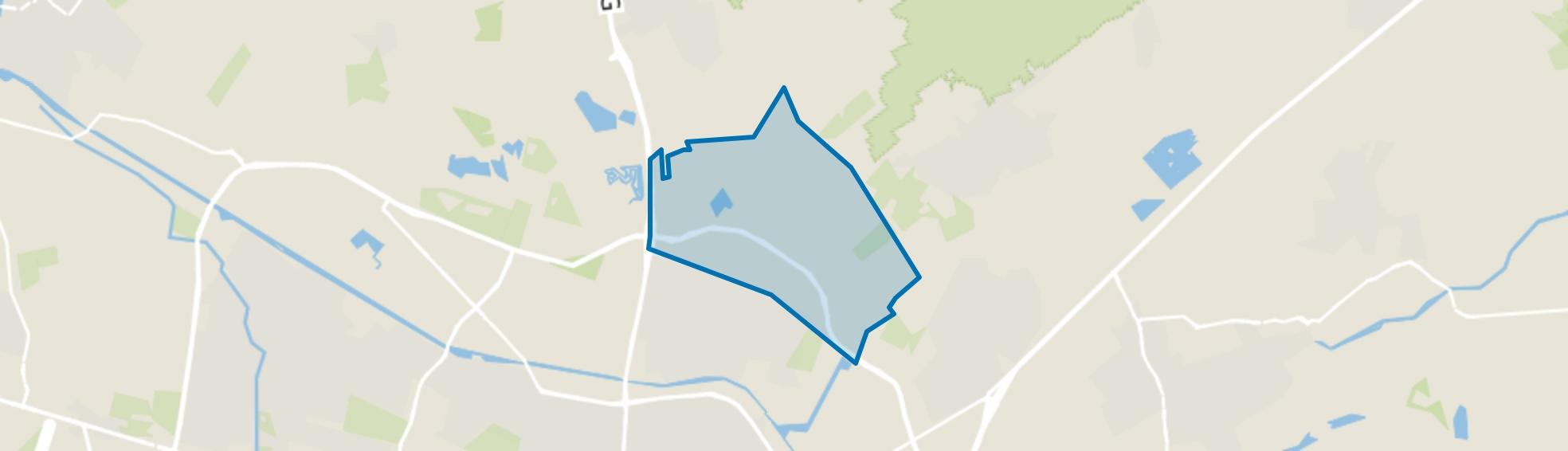 Buitengebied Tilburg Noord-Oost, Tilburg map