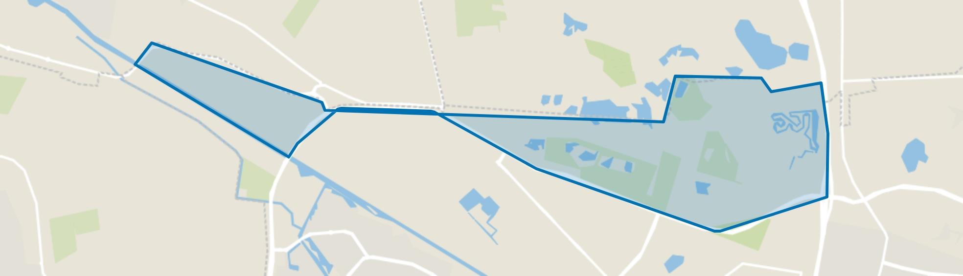 Buitengebied Tilburg Noord-West, Tilburg map