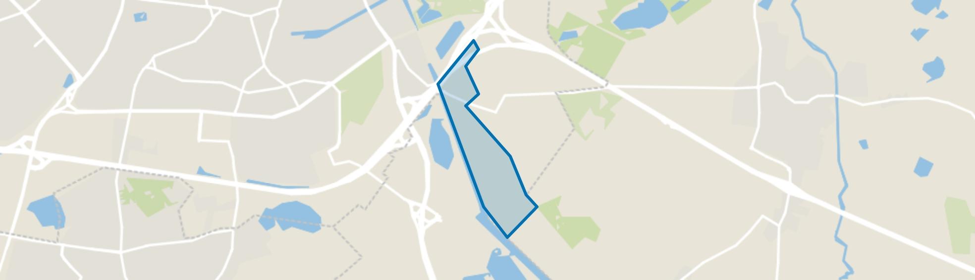 Buitengebied Tilburg Zuid-Oost, Tilburg map