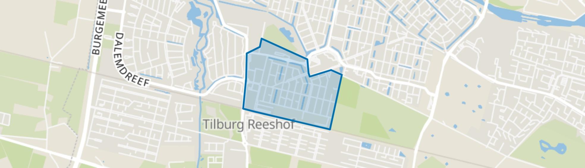 Campenhoef, Tilburg map